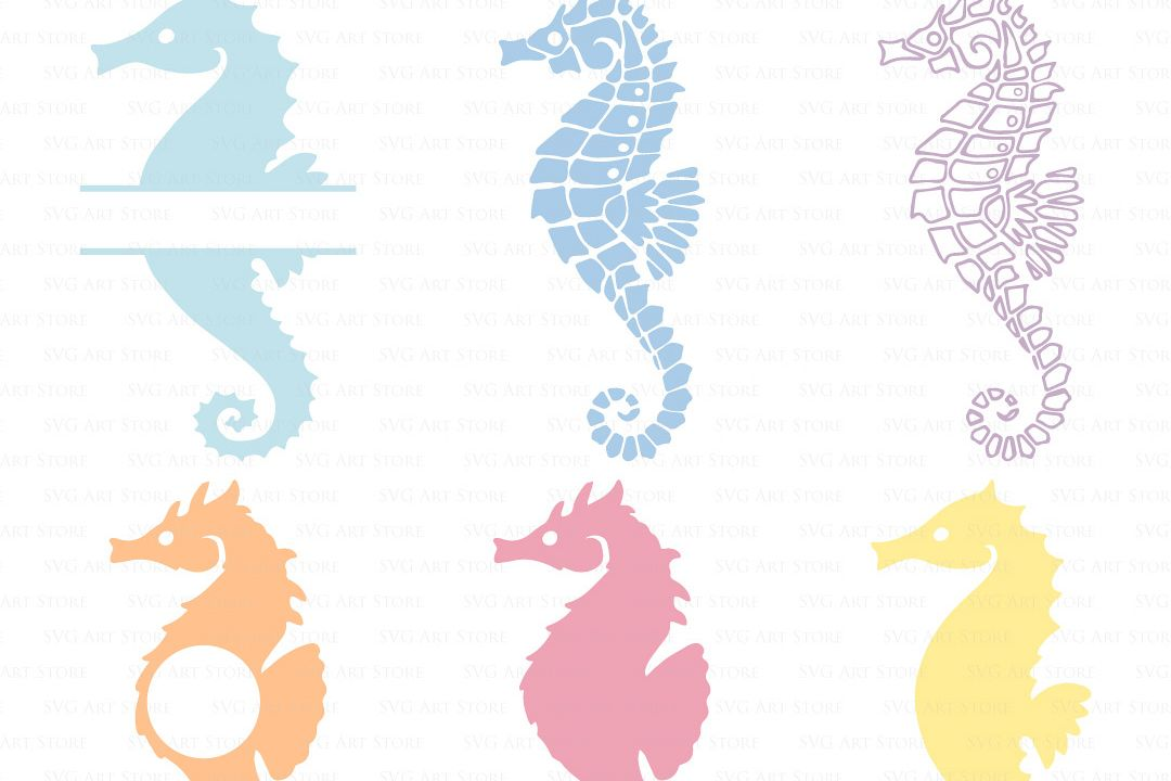 sea horse svg #348, Download drawings