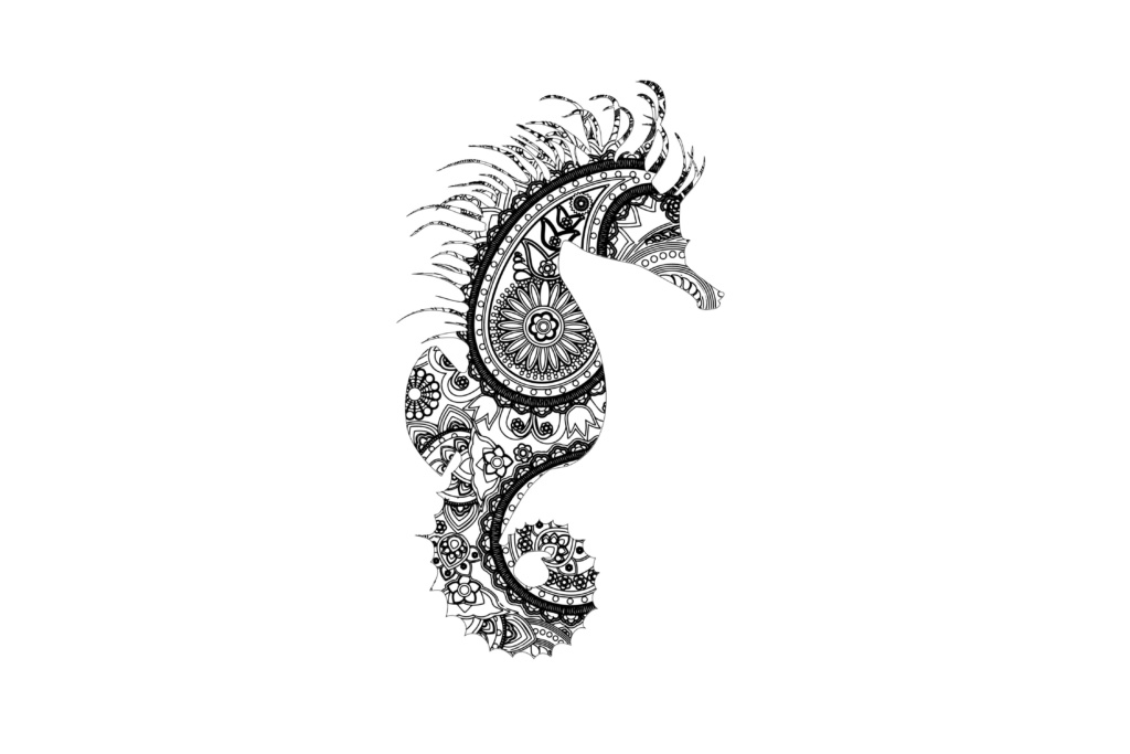 sea horse svg #338, Download drawings