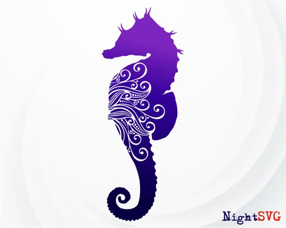 sea horse svg #351, Download drawings