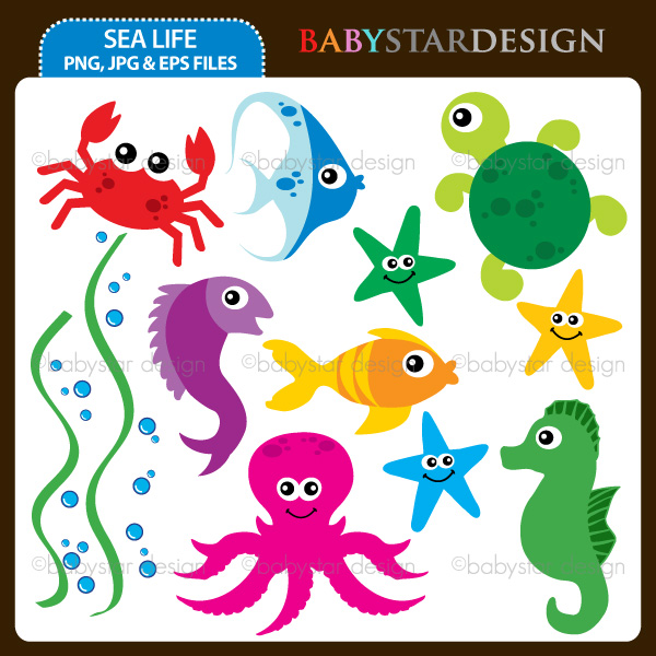 Sea Life clipart #8, Download drawings