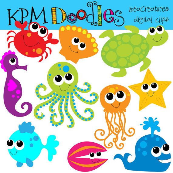 Sea Life clipart #2, Download drawings