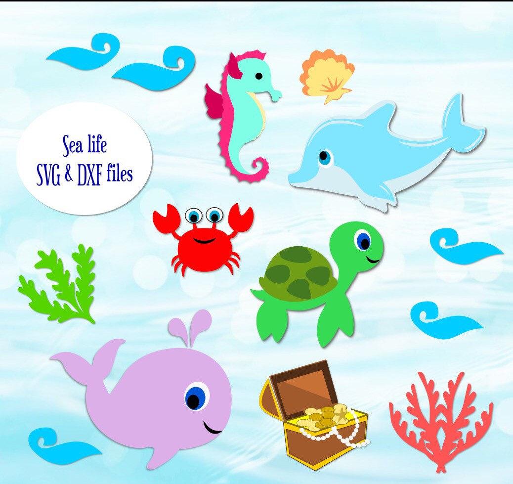 Sea Life svg #16, Download drawings