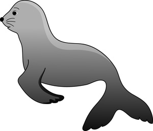 Seal clipart #20, Download drawings