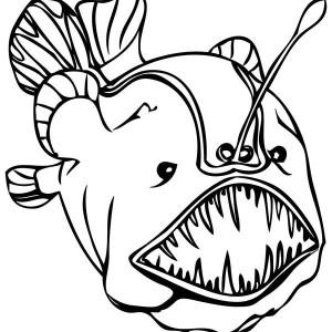 Sea Monster coloring #8, Download drawings