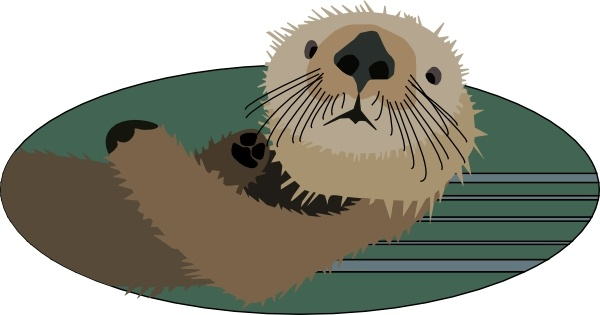 Sea Otter clipart #2, Download drawings