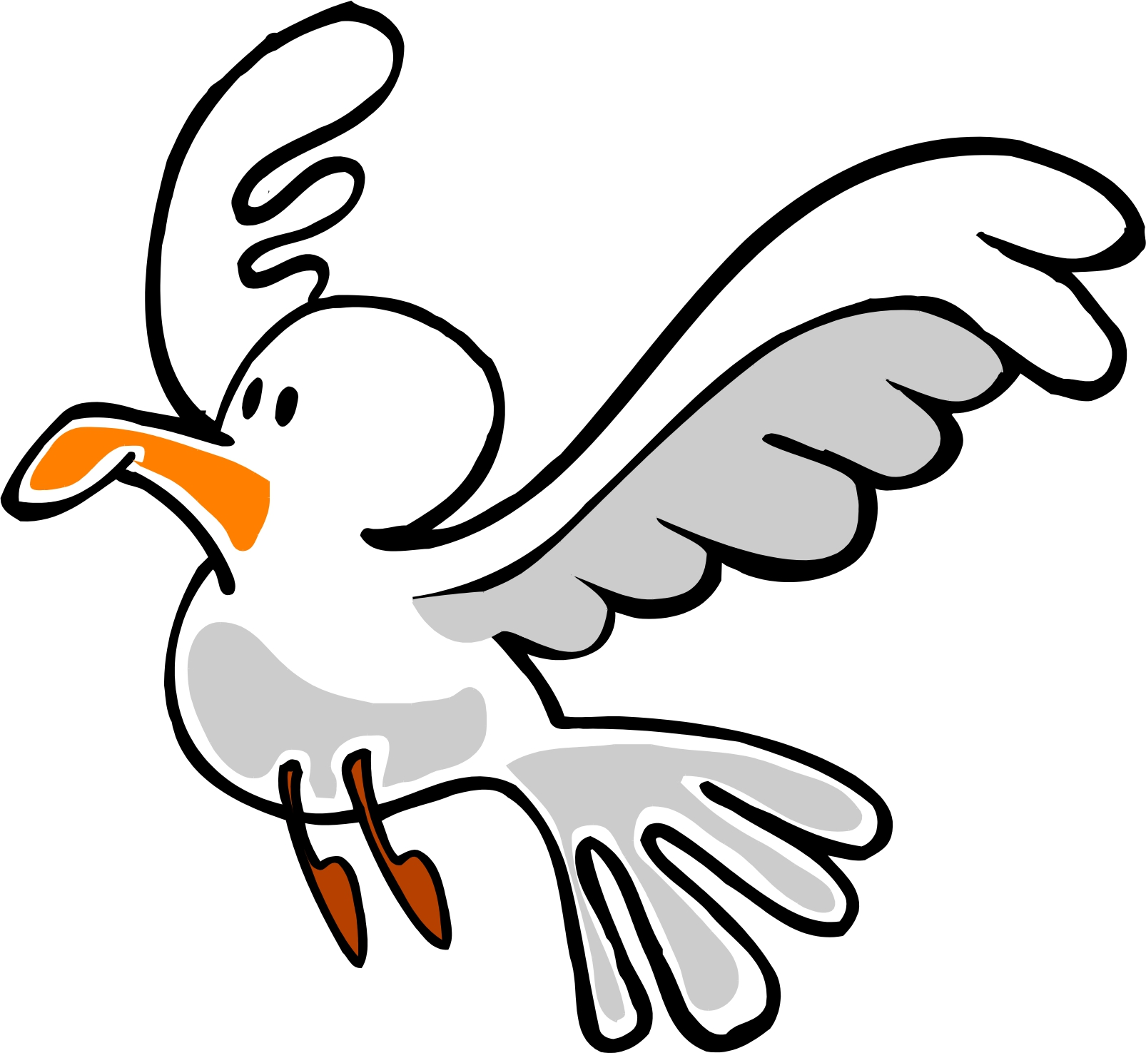 Seagull clipart #12, Download drawings