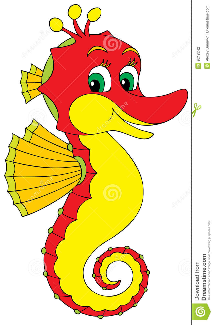Seahorse clipart #2, Download drawings