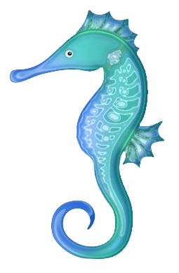 Seahorse clipart #9, Download drawings