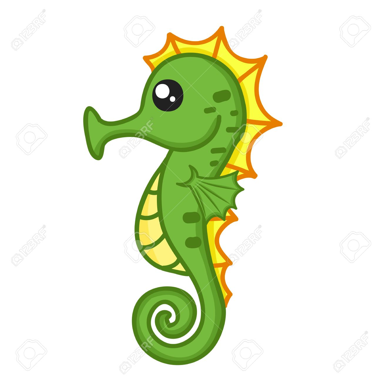 Seahorse clipart #7, Download drawings
