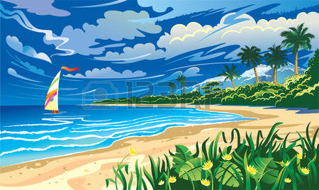 Seascape clipart #5, Download drawings
