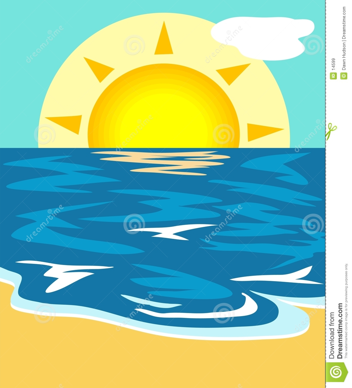 Seascape clipart #4, Download drawings