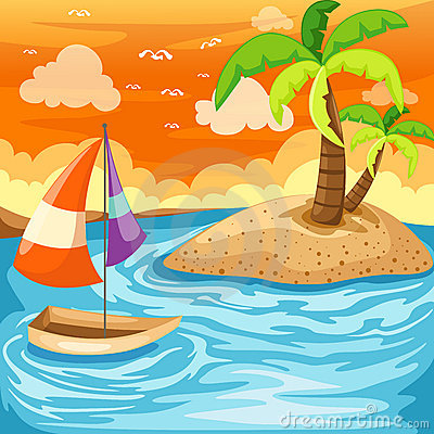 Seascape clipart #3, Download drawings