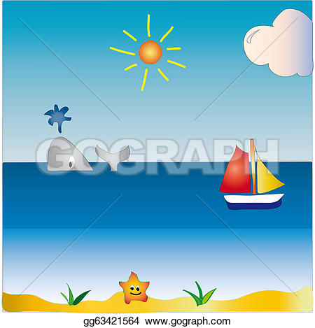 Seascape clipart #9, Download drawings