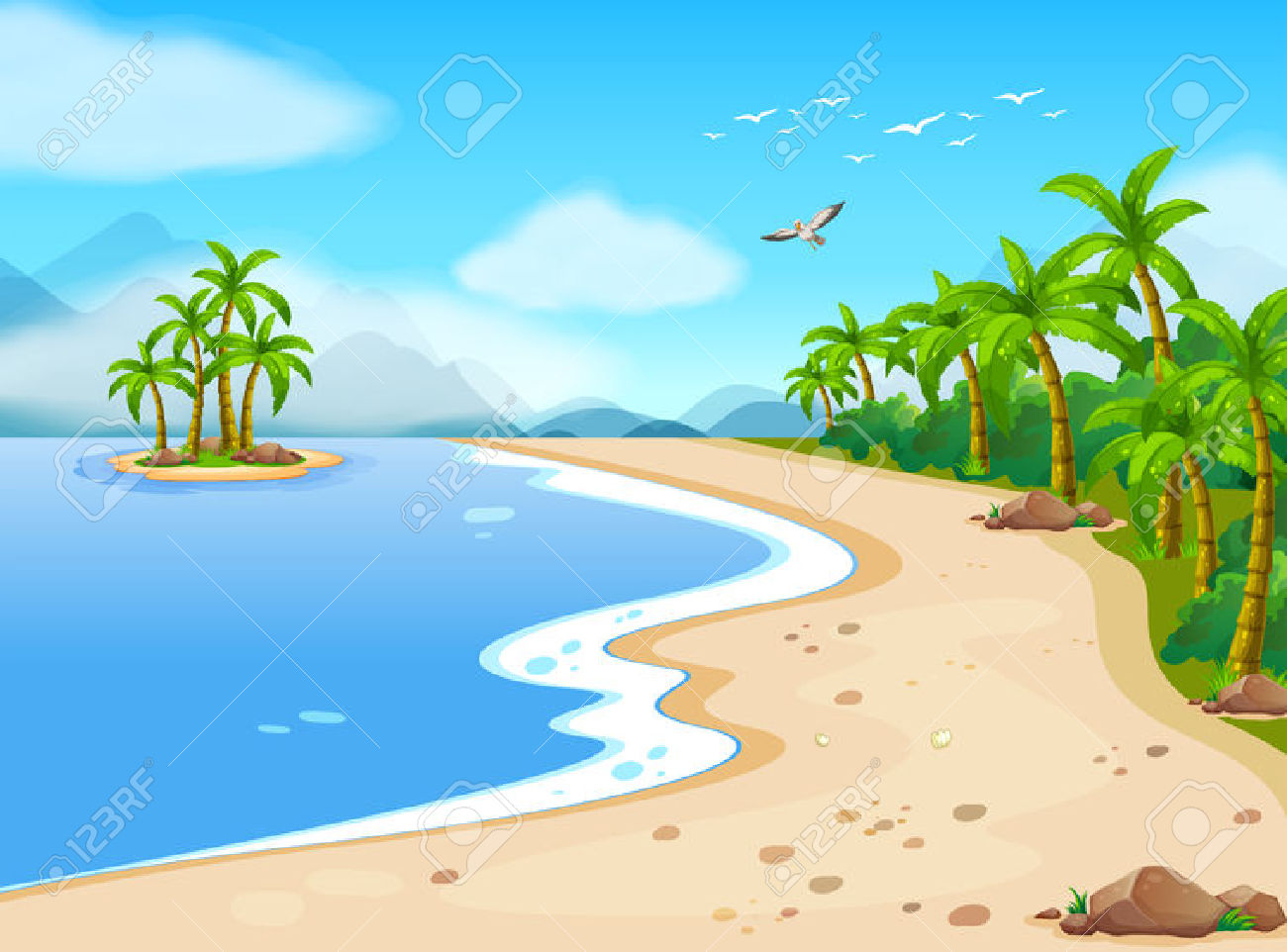 Seashore clipart #6, Download drawings