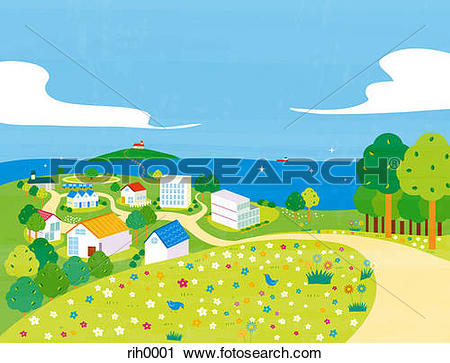Seaside clipart #5, Download drawings