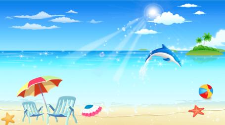 Seaside clipart #3, Download drawings