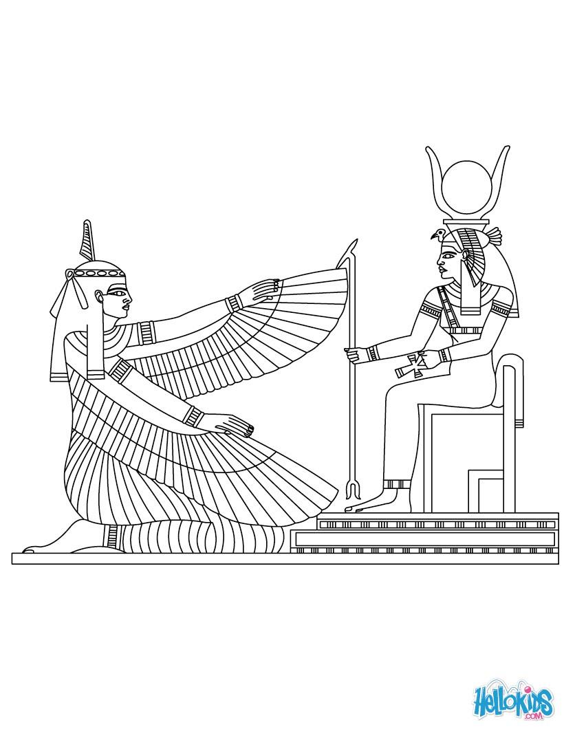 Sekhmet (Deity) coloring #3, Download drawings