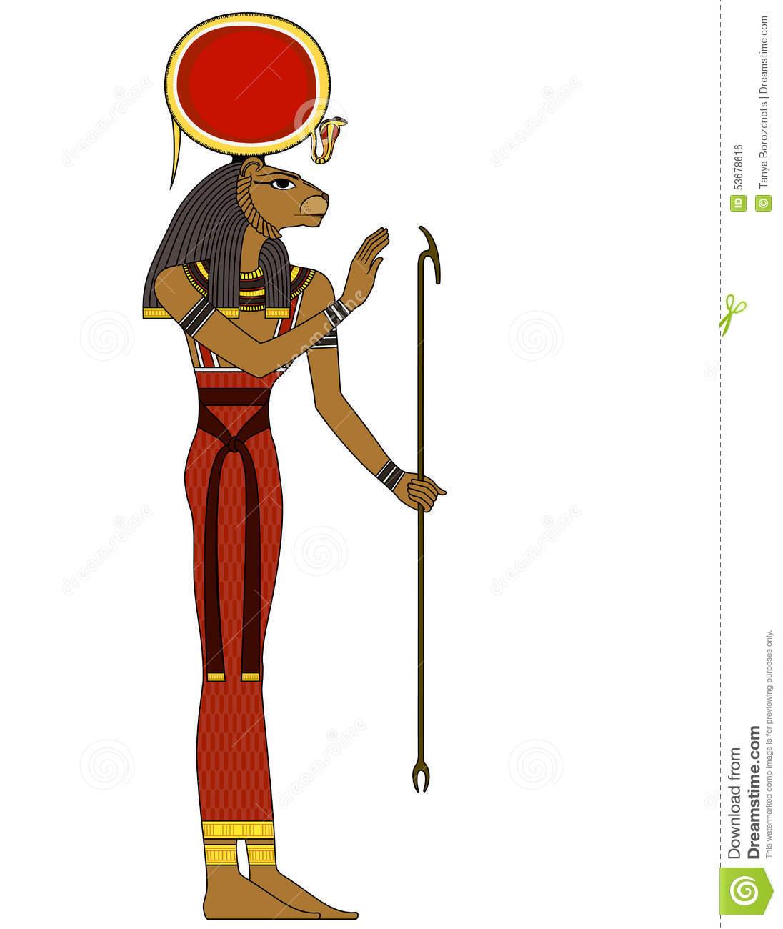 Sekhmet (Deity) coloring #7, Download drawings