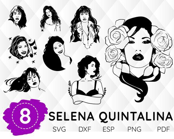 selena svg #798, Download drawings