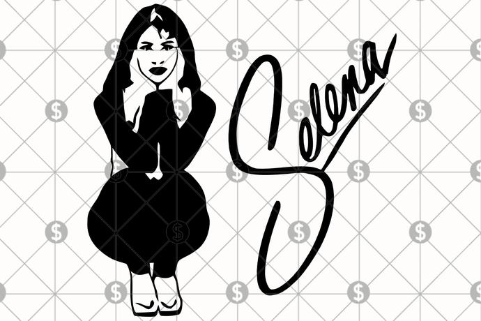selena svg #796, Download drawings