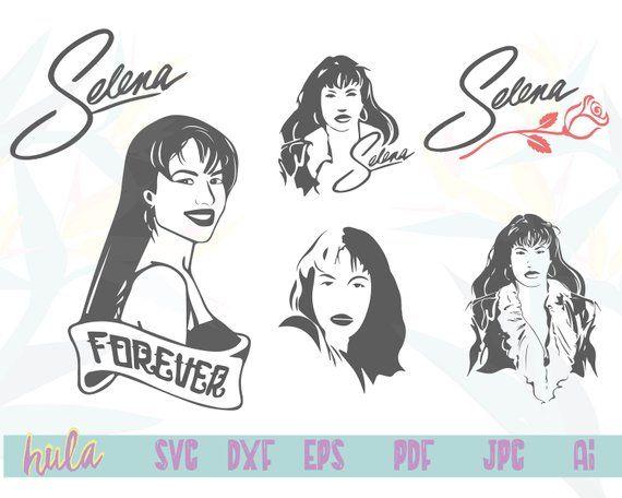selena svg #799, Download drawings