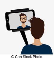 Selfie clipart #1, Download drawings