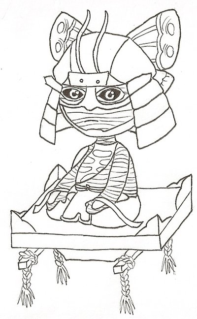 Sengoku Basara coloring #14, Download drawings