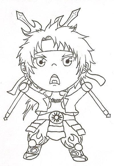 Sengoku Basara coloring #9, Download drawings