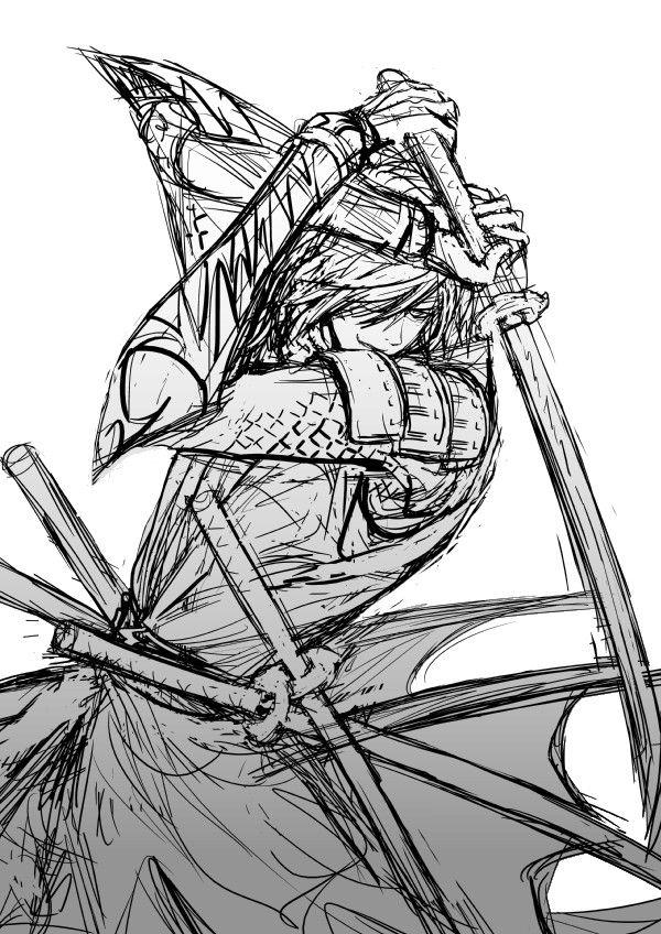 Sengoku Basara coloring #3, Download drawings