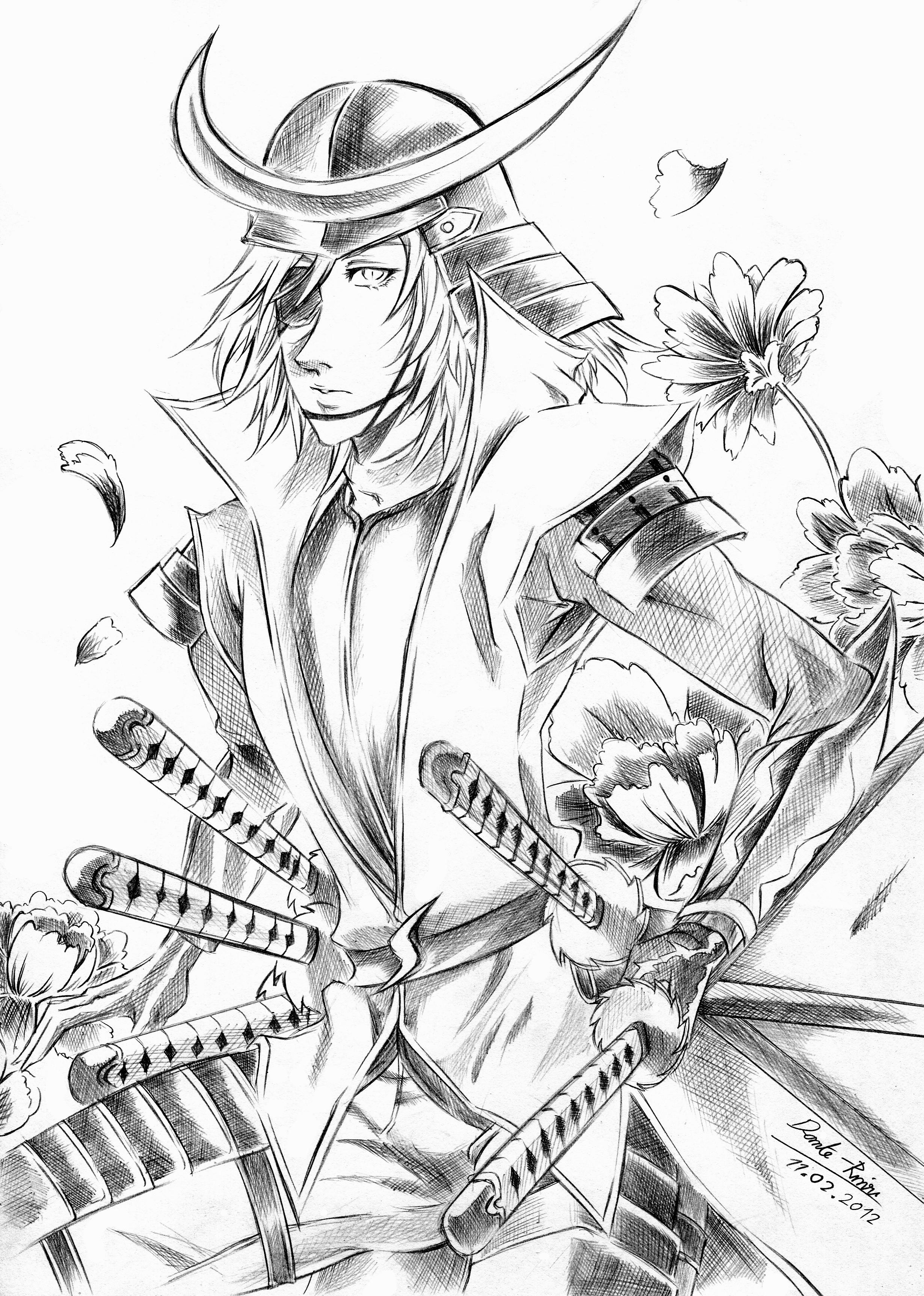 Sengoku Basara coloring #1, Download drawings