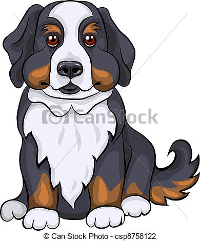 Sennenhund clipart #6, Download drawings
