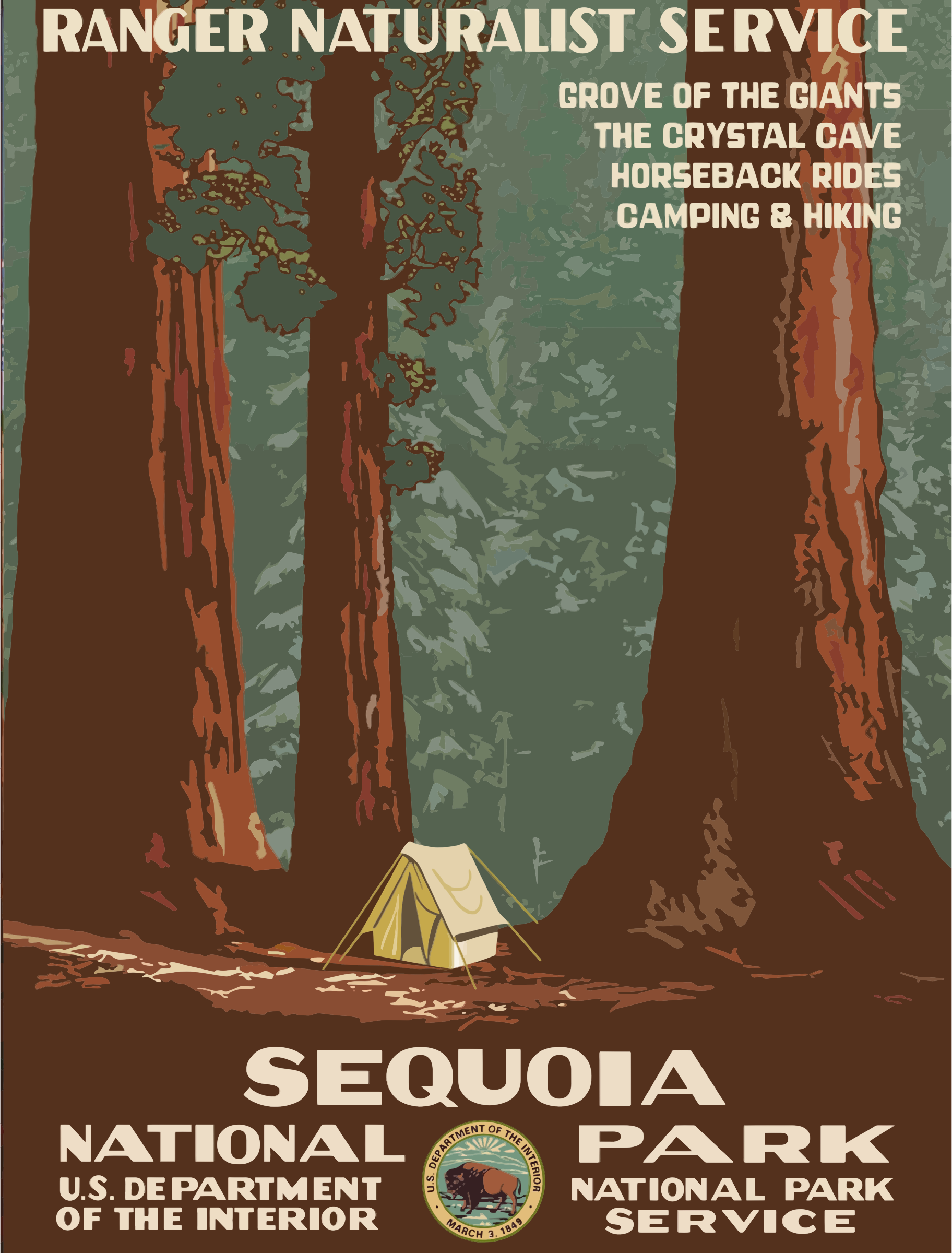 Sequoia National Park clipart #17, Download drawings