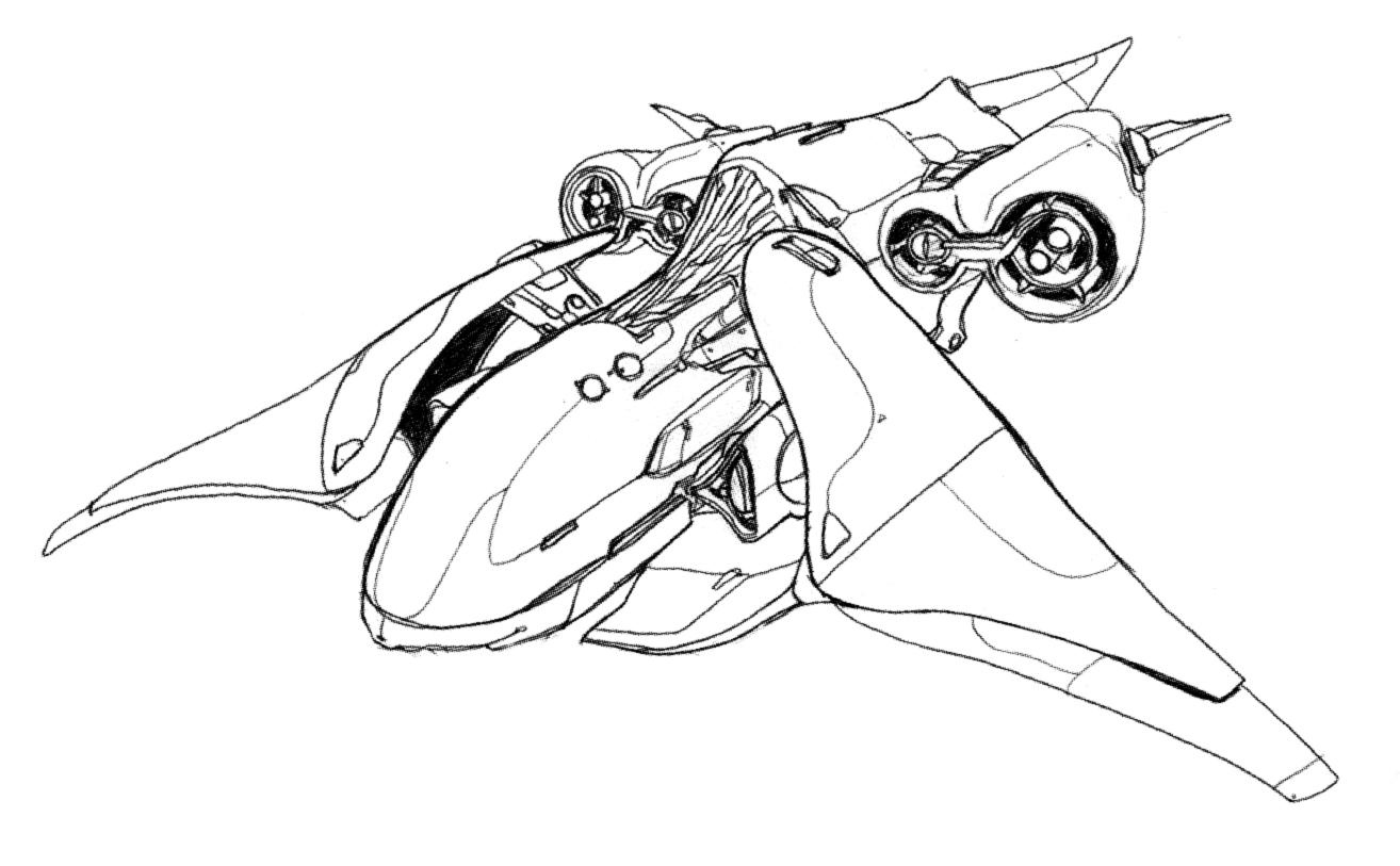 Seraph coloring #6, Download drawings