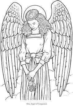 Seraphim coloring #9, Download drawings