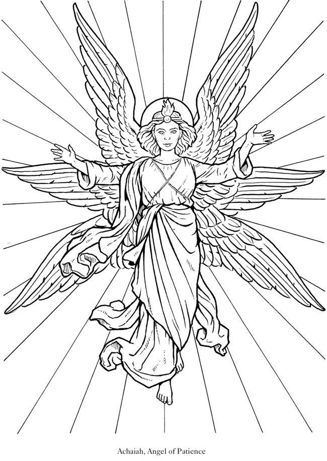 Seraphim coloring #8, Download drawings