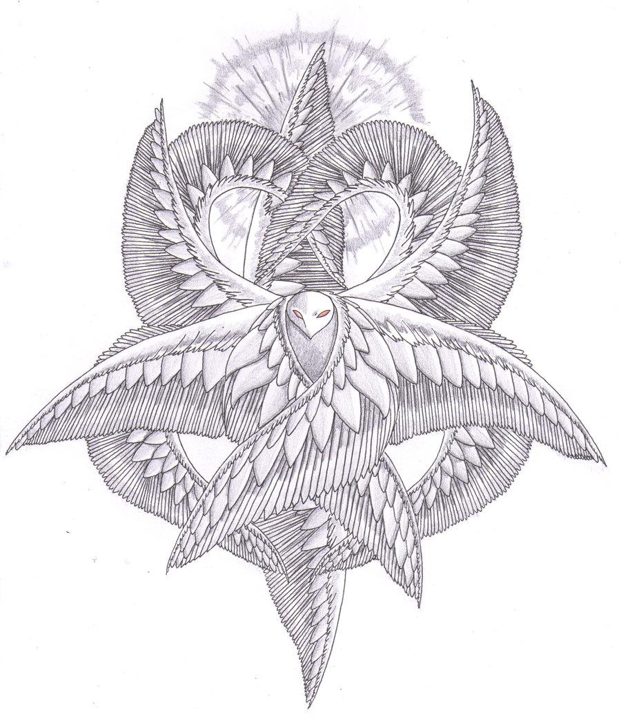 Seraphim coloring #7, Download drawings