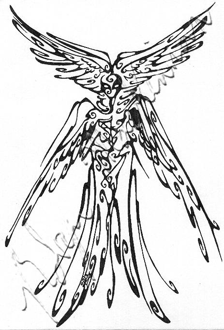 Seraphim coloring #15, Download drawings