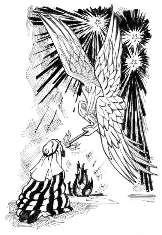 Seraphim coloring #17, Download drawings