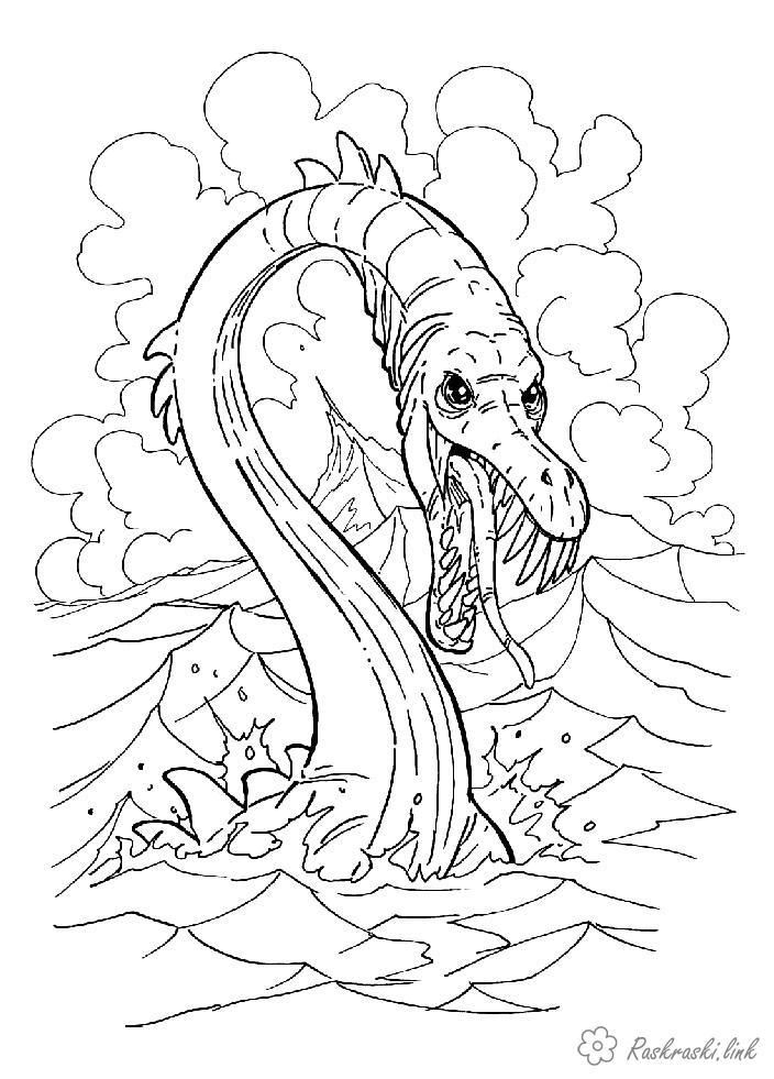 Serpent coloring #5, Download drawings