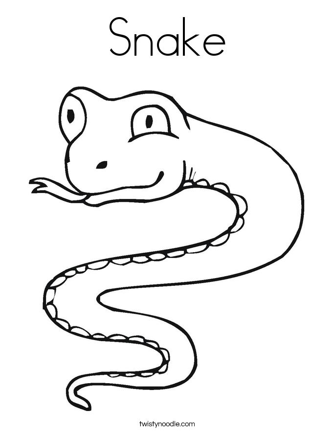 Serpent coloring #14, Download drawings