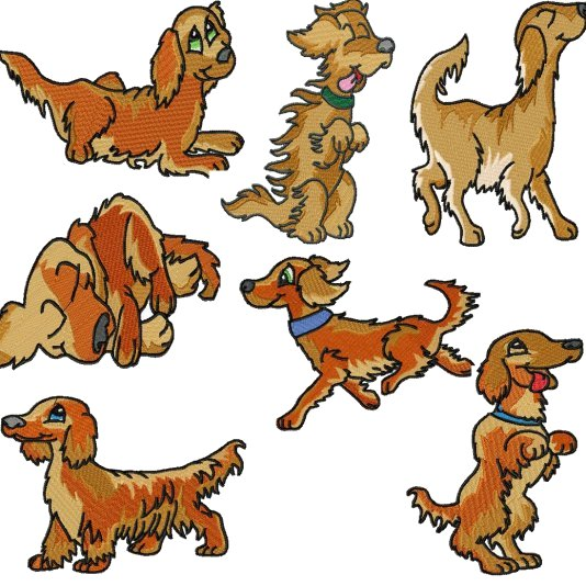 Setter clipart #5, Download drawings