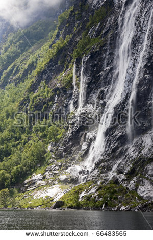Seven Sisters Waterfall, Norway clipart #11, Download drawings