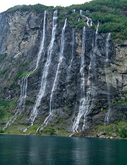Seven Sisters Waterfall, Norway clipart #4, Download drawings