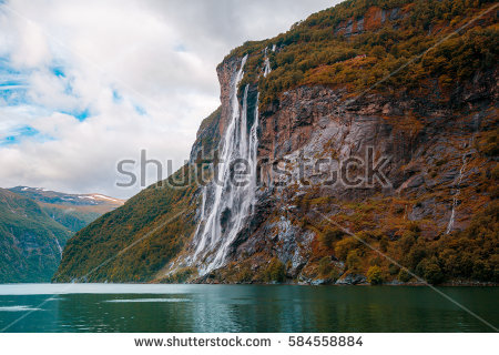 Seven Sisters Waterfall, Norway clipart #8, Download drawings
