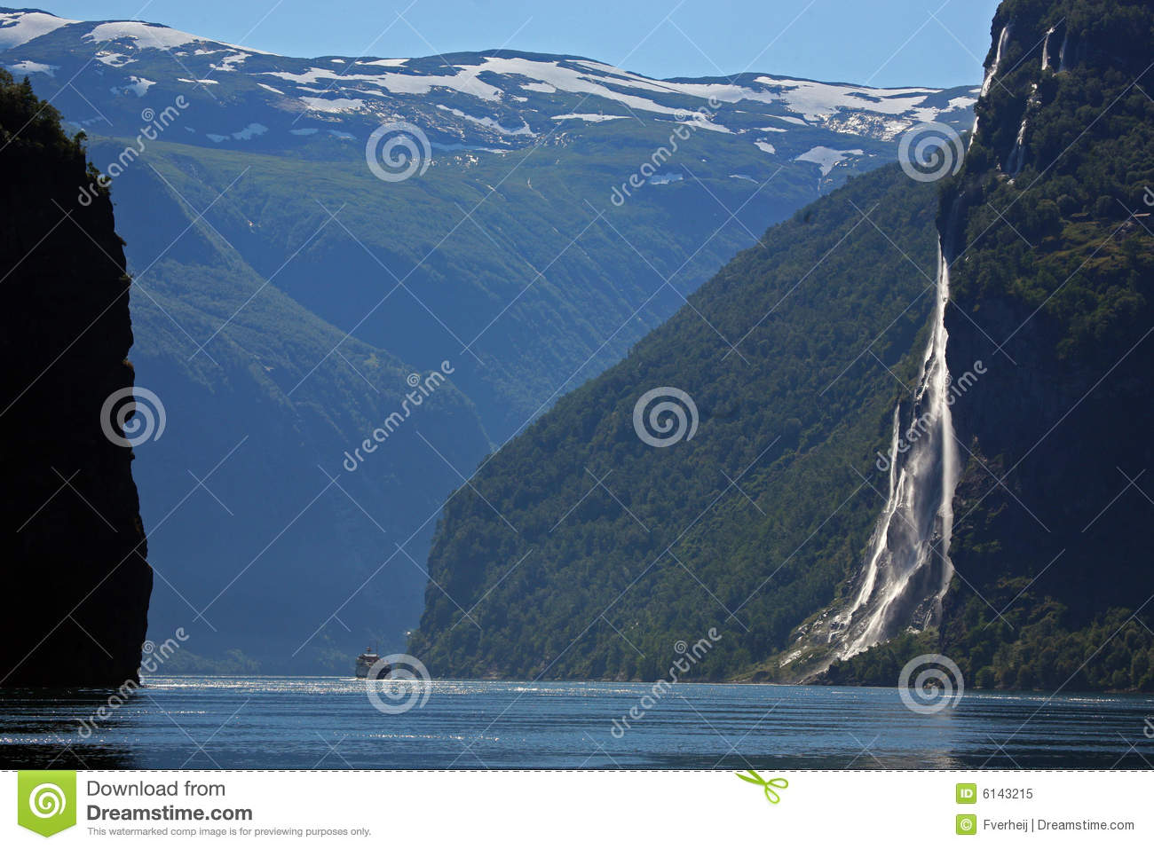 Seven Sisters Waterfall, Norway clipart #7, Download drawings