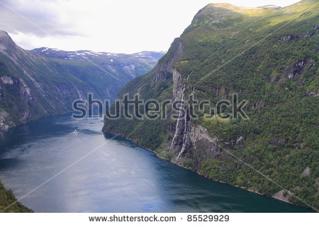 Seven Sisters Waterfall, Norway clipart #12, Download drawings