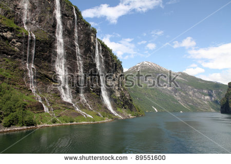 Seven Sisters Waterfall, Norway clipart #3, Download drawings