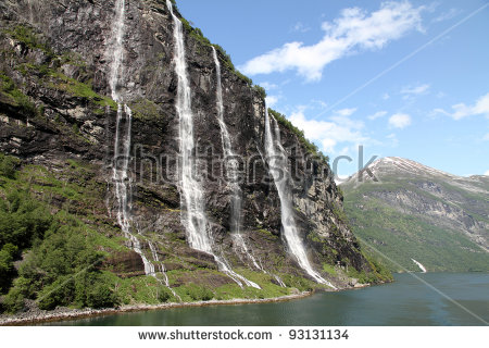 Seven Sisters Waterfall, Norway clipart #17, Download drawings