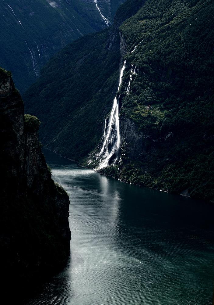 Seven Sisters Waterfall, Norway svg #5, Download drawings