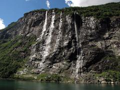 Seven Sisters Waterfall, Norway svg #8, Download drawings